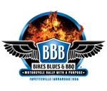 Bikes Blues and BBQ Logo