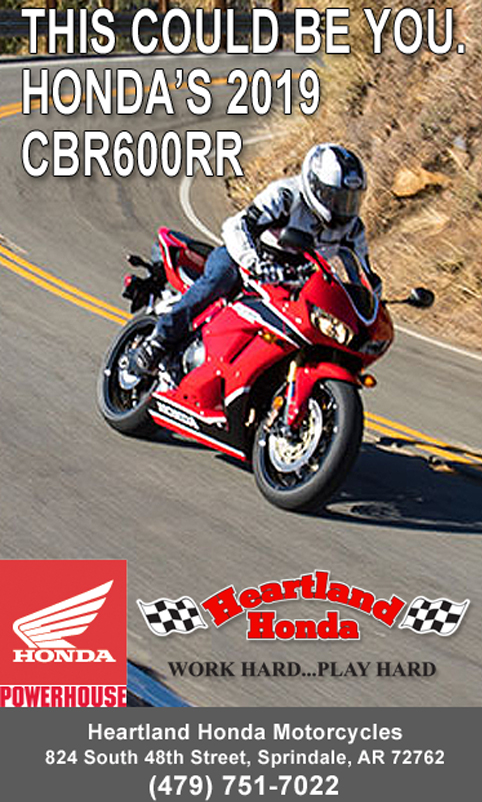 Honda Of The Ozarks >> Motorcycle Riding In Arkansas And Missouri Ozarks Road Maps