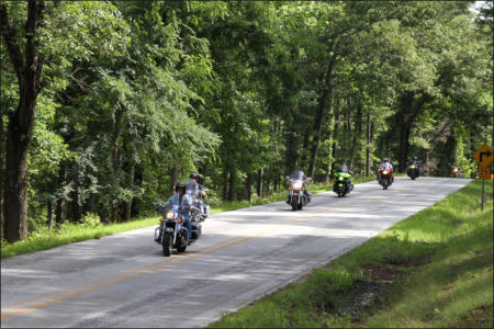 Arkansas Motorcycle riders