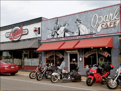 The Famous Ozark Cafe in Jasper